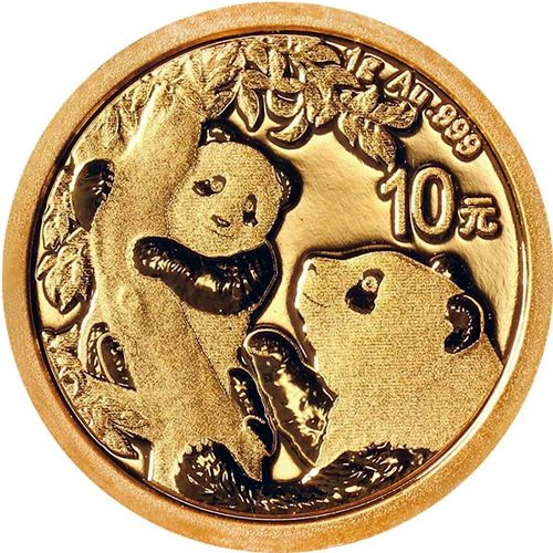 chinese gold panda