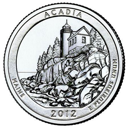 5oz silver coin acadia