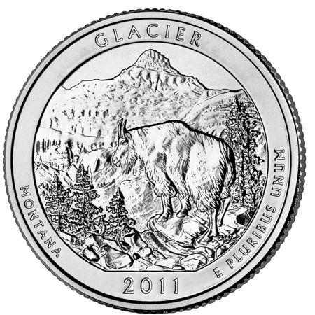 5oz silver coin glacier