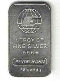 engelhard silver bar
