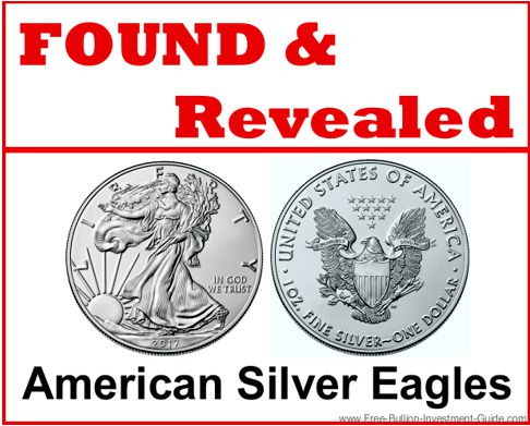 Found and Revealed - American Silver Eagles