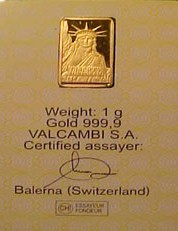 assayer mark credit suisse