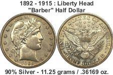 barber halfdollar