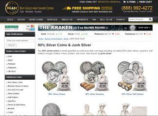 bgasc junk silver coins