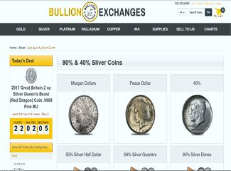 Bullion Exchanges Junk Silver Coins
