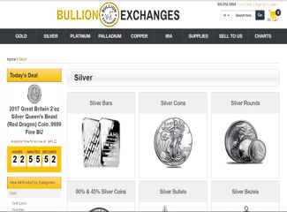 Bullion Exchanges Silver Bullion