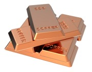 copper bullion bars