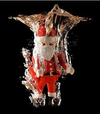 dipping santa - december dips
