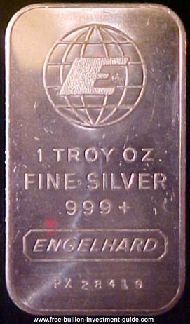 engelhard 1oz silver bar