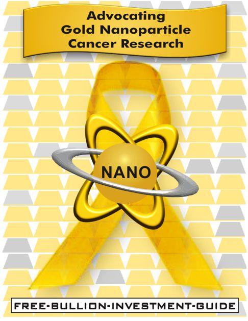 NANO cancer awareness ribbon