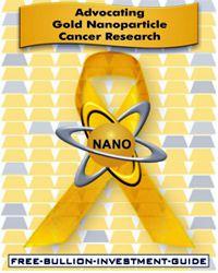 NANO Cancer Awareness Ribbon for the Free Bullion Investment Guide