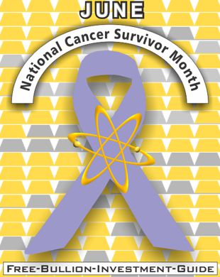 june national cancer survivor ribbon