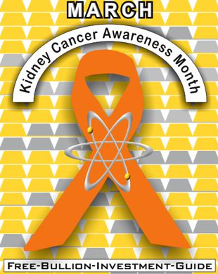 march kidney cancer ribbon