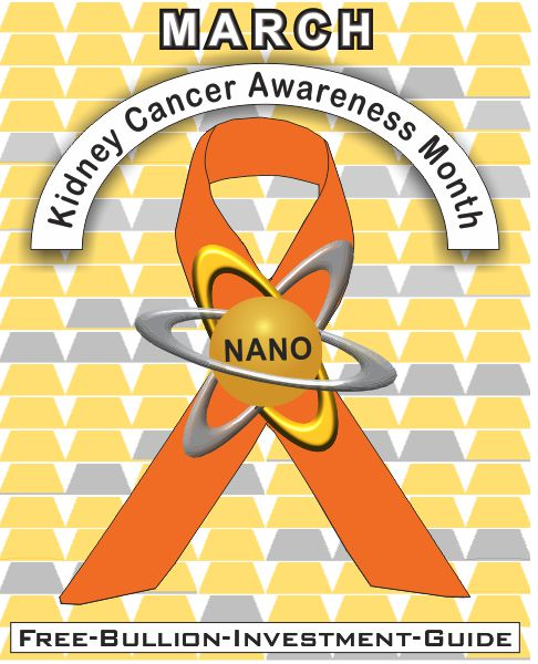 march kidney cancer gold nano ribbon