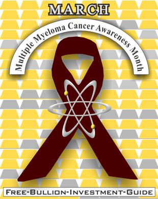 march multiple myeloma cancer ribbon