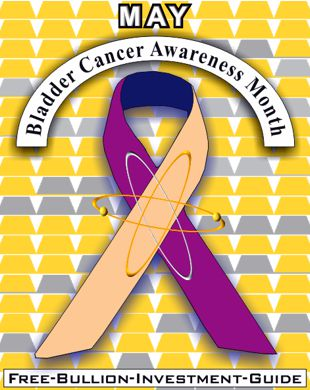 may bladder cancer ribbon