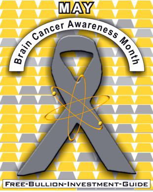 may brain cancer ribbon