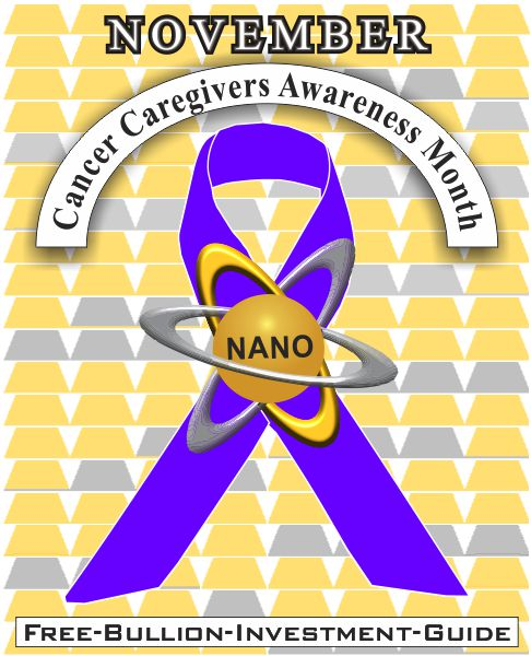 november cancer caregivers gold nano ribbon
