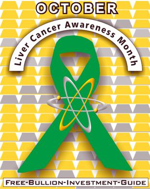 october liver cancer ribbon