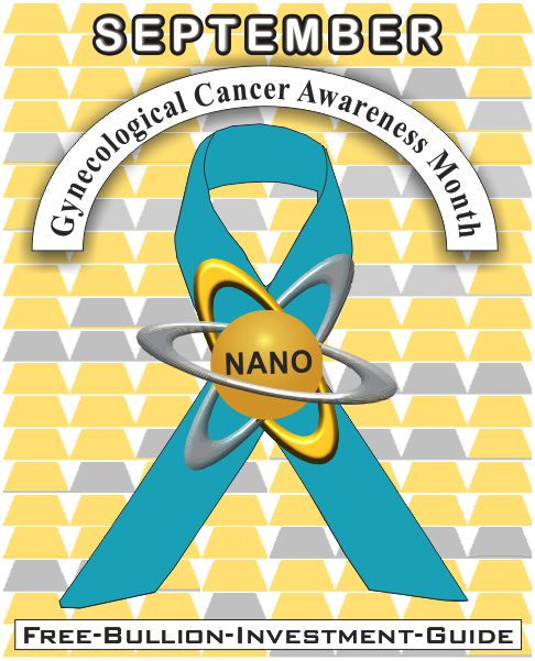 september gynecological cancer gold nano ribbon