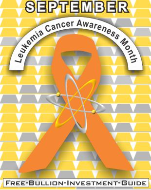 september leukemia cancer ribbon