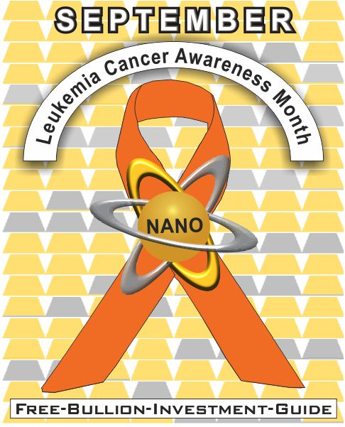 september leukemia cancer gold nano ribbon