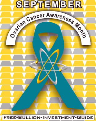 september ovarian cancer ribbon