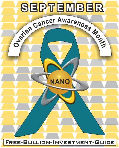 september ovarian cancer gold nano ribbon
