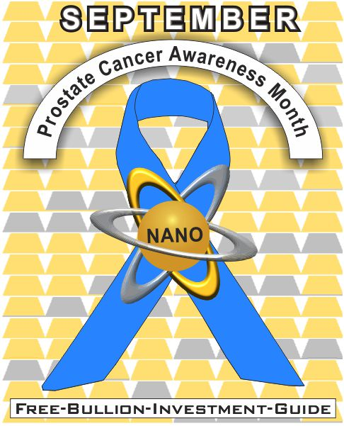 september prostate cancer gold nano ribbon