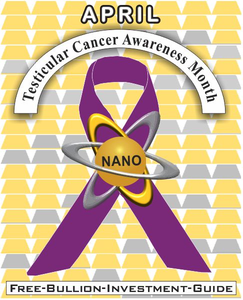 testicular cancer gold nano ribbon