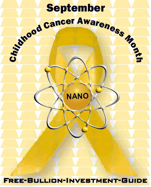 childhood cancer gold nano ribbon
