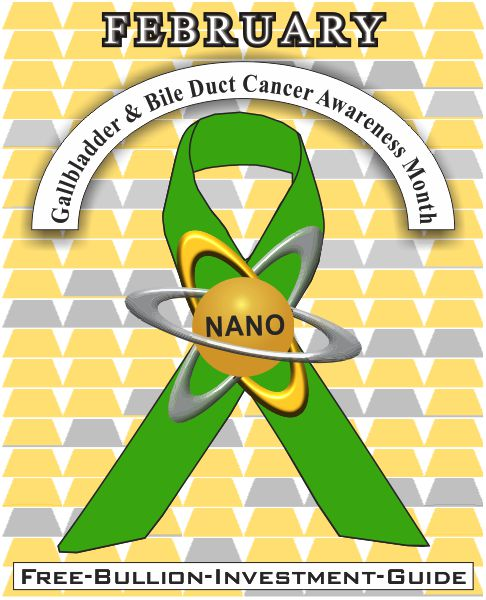 gallbladder & bile duct cancer gold nano ribbon