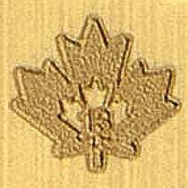maple leaf security mark