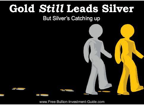 Gold Still Leads Silver