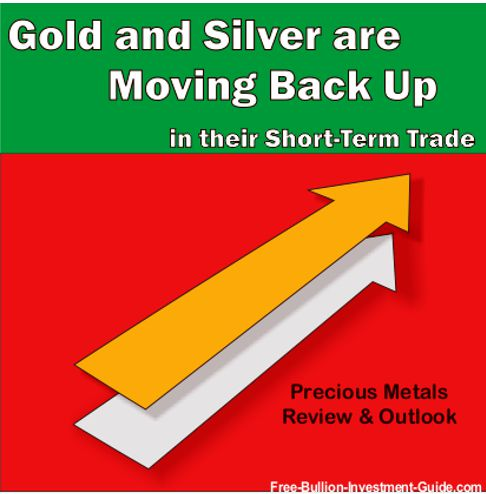 Gold and Silver are Moving Back Up