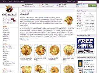 goldeneagle coins gold coins