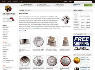goldeneaglecoins silver coins