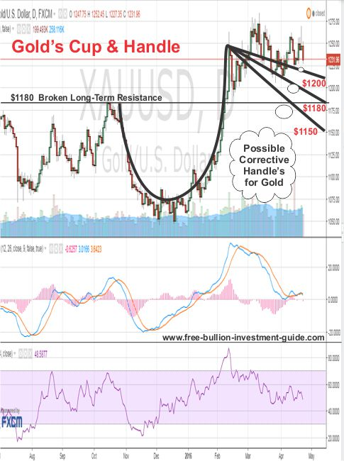 golds cup and handle