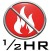 half hour fire protection