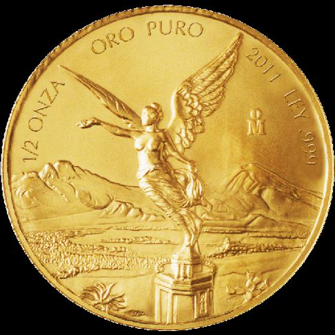 Mexican Gold Libertads Half Oz Amp All Fractional Gold