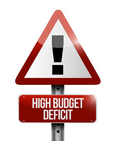 high budget deficits