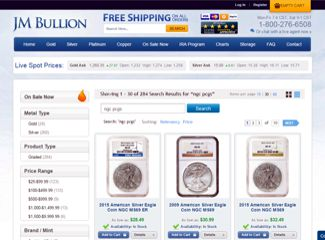 jm bullion graded coins