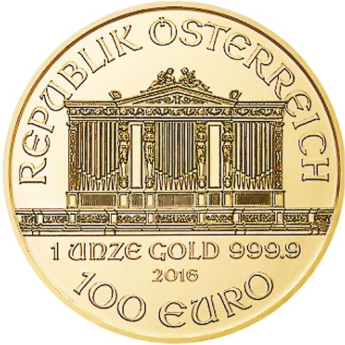 one oz gold philharmonic