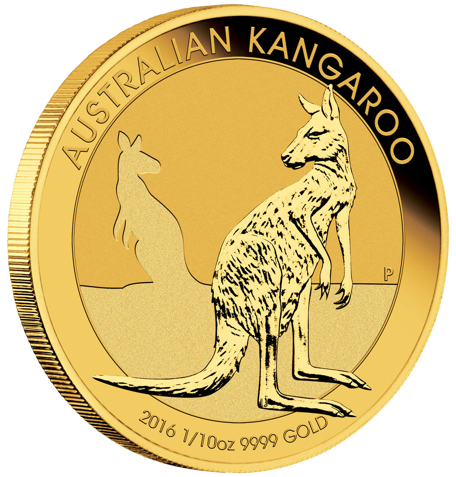 half oz gold kangaroo