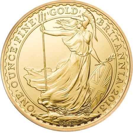 one oz gold britannia rev