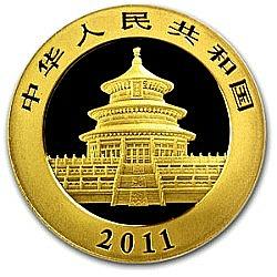2001 thru present gold panda