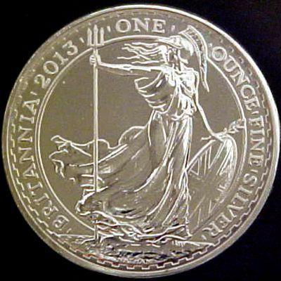 one oz silver britannia