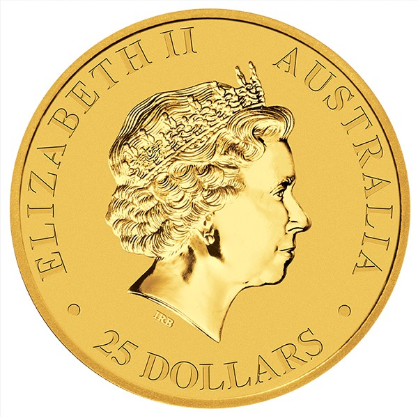quarter oz gold kangaroo
