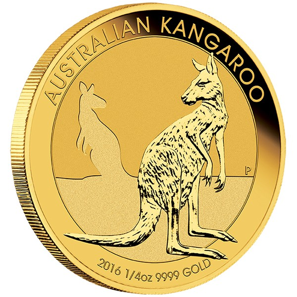 quarter oz. gold kangaroo
