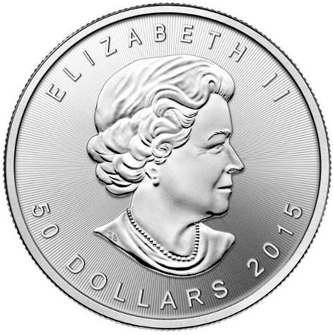 Canadian Palladium Maple Leaf Bullion Coin
